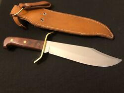 Western W49 F-stamp 1982 Bowie Knife -vtg Collection - Usa