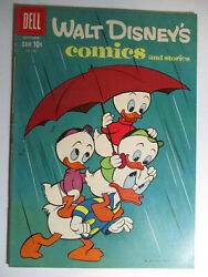 Walt Disneyand039s Comics And Stories 240 Carl Barks Fine 6.0 White Pages