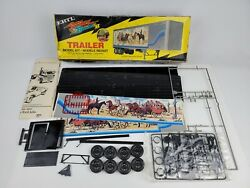 Ertl Smokey And The Bandit Ii Trailer Model Kit 1/25th Scale May Be Incomplete