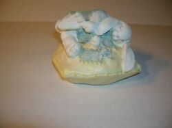 Vintage The Patchville Bunnies Hare Van Winkle Collectible Figurine Ab259