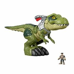 Fisher-price Imaginext Jurassic World Mega Mouth T-rex Chomping Action Figure