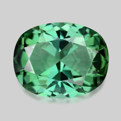 5.25cts Exquisite Custom Cut Natural Teal Green Tourmaline Video In Description
