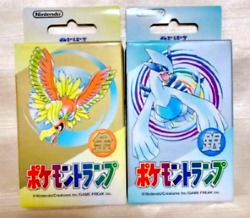 Pokemon Playing Cards - Silver And Gold Lugia Ho-oh Poker Set 2000 Unopened Sealed