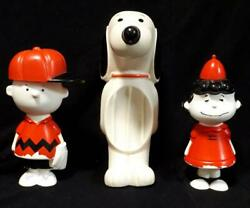 United Feature Syndicate Inc Peanuts Snoopy Soap Dish Dispenser Vintage Rare