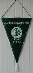 Wimpel Wm-finale 1966 World Cup Final West Germany - England Match Pennant
