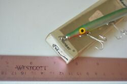 Vintage Boone Bait Company 4andrdquo Wood Needlefish Lure In The Box Lot K1