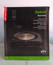 Irobot Roomba S9+ 9550 Robot Vacuum With Automatic Dirt Disposal.wi-fi Connect