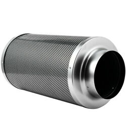 Air Carbon Filter 6 With Charcoal For Inline Duct Fan Vent Grow Tent Hydroponic