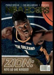 2019-20 Hoops Rookie Special Spec1 Zion Williamson Rc