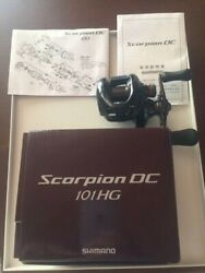 Shimano Scorpion Dc 101hg Right Baitcasting Reel From Japan【used】
