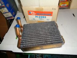 Nos New Heater Core H2393 / 98521 1980's Ford Truck Bronco Parts Vintage Copper
