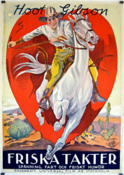 Riding For Fame / Hoot Gibson / 1928 / Reeves Eason / Movie Poster/36