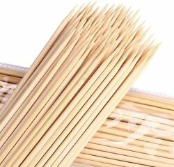 Barbecue Natural Bamboo String Having More Size Choices For Bbq,kebabs