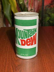 Vintage Mountain Dew Can Steel