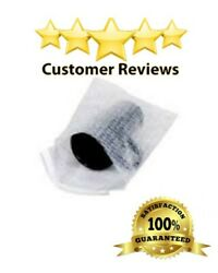 400 7 X 11.5 Clear Bubble Out Bags Protective Wrap Pouch Self Seal Free Shipping
