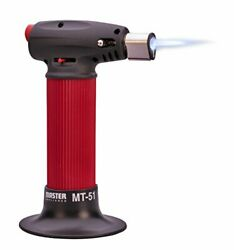 Master Appliance Mt-51 Butane Micro Torch Hand Held Refillable With Adjustabl...