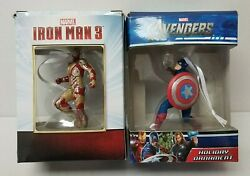 Iron Man And Captain America Christmas Ornaments Marvel Avengers And Iron Man 3 2013