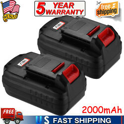 2pack 18v 18-volt Nicd Replacement Battery For Porter Cable Pc18b Cordless Tools