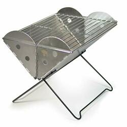 Uco Barbecue Nomade Barbeque Portable Mixte Adulte Gris Taille Unique