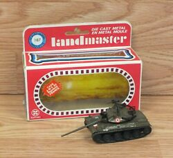Genuine Zylmex Land Master T406 Amx 30 Napoleon France Collectible Tank In Box