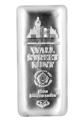 Buy-investmt 1 -10 Troy Oz .999 Fn Silver Wall Street Mint Bar From Sdmt
