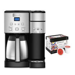 Cuisinart Ss-20 Coffee Center 10 Cup Coffeemaker And Single Serve Brewer Bundle