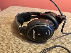 Bose A20 Aviation Headset Noise Cancellation - Black