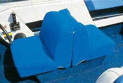 Taylor Made Products 11997 Boat Seat Cover Back To Back Lounge Seat Blue