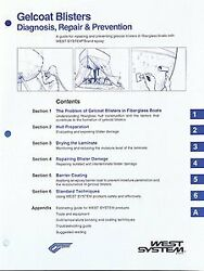 West System 002-650 Gel-coat Blister How-to Manual