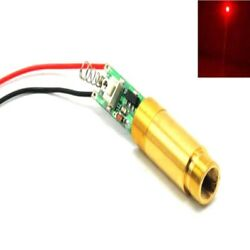 High Power Apc Dc3.7v Industrial 650nm 200mw Red Dot Laser Diode Module W Driver
