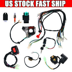 Cdi Wire Harness Stator Assembly Wiring Harness For Chinese Atv Quad 50-125cc