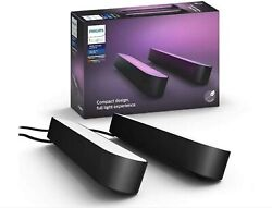 Philips Lighting Hue Play Pack White And Color Ambiance X2 66 W - Noir