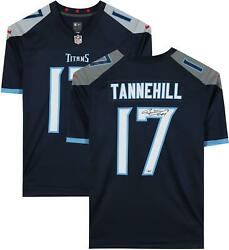 Ryan Tannehill Tennessee Titans Autographed Blue Nike Game Jersey