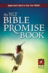 Nlt Bible Promise Book, Paperback By Beers, Ron Mason, Amy E. Com, Like Ne...