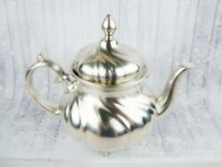 Vintage Teapot Coffee Tea Pot Pitcher Brass Copper Silver Plated Wmf Germany Old