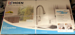 Moen 87014ewsrs Stainless Steel Kitchen Faucet With Motion Sense Wave 5