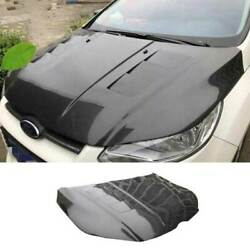 For Ford Focus 2012-2014 Replace Carbon Fiber Engine Hood Cover Full Carbon 1pcs