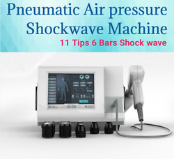 2021 Focus Pneumatic Eswt Shockwave Therapy Joint Pain Relief Machine Home Use