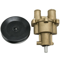 Raw Sea Water Pump W/ Pulley For Mercruiser 4.3l 5.0l 5.7 All Metal 46-8m0122655