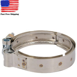 3903652 Exhaust Turbo V-band Outlet Clamp For 1989-2002 Dodge Ram 2500 3500 5.9l