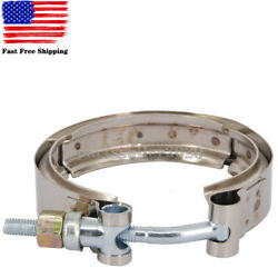 For Dodge Ram 2500 3500 5.9 Cummins 89-02 V-band Clamp Exhaust Tube Turbo Outlet