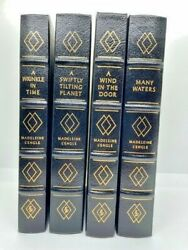 Madeleine Land039engleand039s Personal Copies Of Easton Wrinkle Int Time Quartet Coa