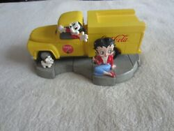 2000 King Features Premiere Edition Betty Boop/coca-cola Truck Box 2052/4800