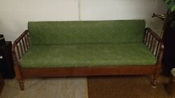 Antique Jenny Lind Day Bed Settee Sofa