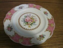 Royal Albert Lady Carlyle Dinner Plate 9 3/8 Inch - Odd Size As Older