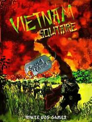 White Dog Wargame Vietnam Solitaire Special Ed New
