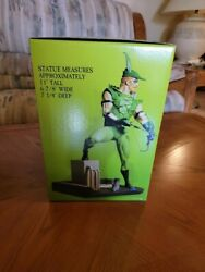 Green Arrow Cold-cast Porcelain Hand Painted Statue 11andrdquo 0294/2200 Dc Direct