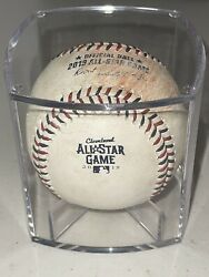 Mlb Authenticated 2019 Game Used All Star Game Baseball Cleveland Rbi 🔥