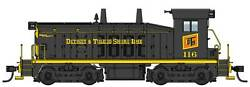 10655 Walthers Emd Sw7 - Standard Dc Detroit And Toledo Shore Line 116