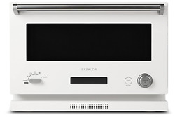 Balmuda The Range K04a-wh White Microwave Oven Flat Cabinet 18l Ac100v